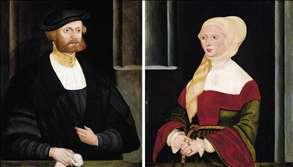 Portraits of a Gentleman and a Lady