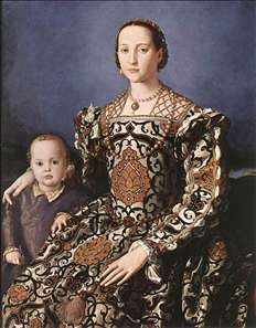 Eleonora of Toledo with her son Giovanni de' Medici