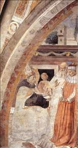 Conversion of the Heretic (scene 15, east wall)
