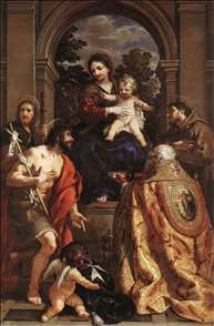Madonna and Saints