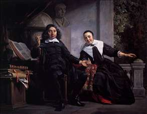Haarlem Printer Abraham Casteleyn and His Wife Margarieta van Bancken