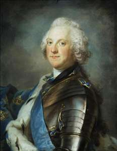 Portrait of Adolf Frederick, King of Sweden