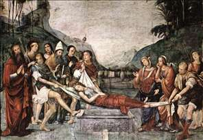 The Burial of St Cecily