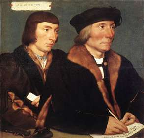 Double Portrait of Sir Thomas Godsalve and His Son John