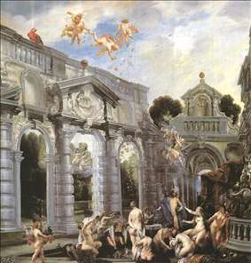 Nymphs at the Fountain of Love