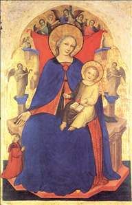 Madonna and Child and a Devotee