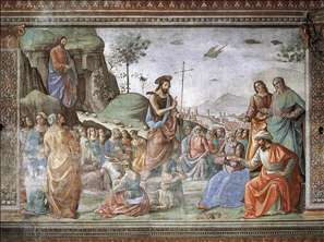 Preaching of St John the Baptist