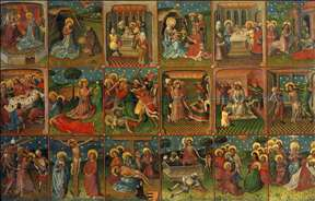 Eighteen Scenes from the Life of Christ
