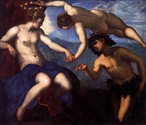 Bacchus, Venus and Ariadne