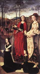 Sts. Margaret and Mary Magdalene with Maria Portinari