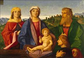 Madonna and Child with Saints and the Donor