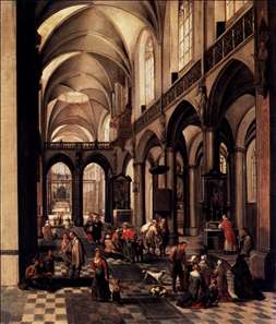 Interior of a Flemish Church