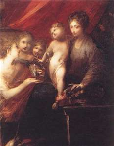 The Virgin of the Compote-dish