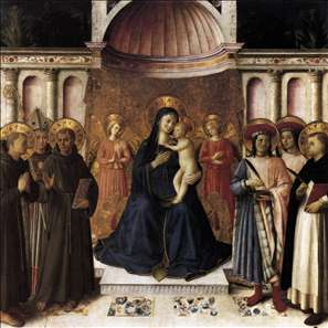 Bosco ai Frati Altarpiece