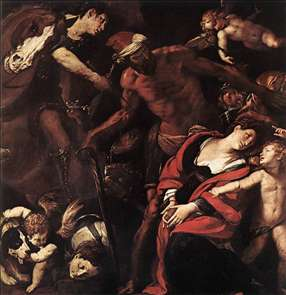 Martyrdom of Sts Seconda and Rufina
