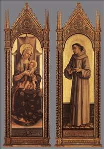 Madonna and Child; St Francis of Assisi