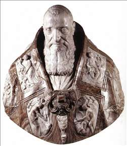 Bust of Pope Paul III