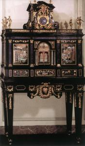Cabinet with Semiprecious Stone inlays