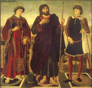 Altarpiece of the SS. Vincent, James and Eustace