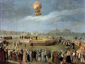 Ascent of the Balloon in the Presence of Charles IV and his Court