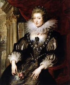 Portrait of Anne of Austria
