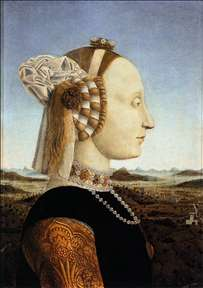 Portrait of Battista Sforza