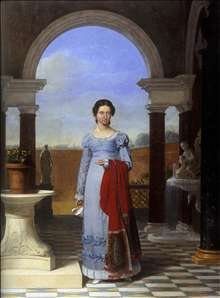 Portrait of Colette Versavel, Wife of Isaac J. de Meyer