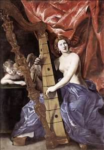 Venus Playing the Harp (Allegory of Music)