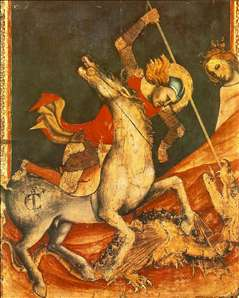 St George 's Battle with the Dragon