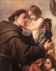 St Anthony of Padua with Christ Child