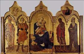 Virgin with Child and Four Saints
