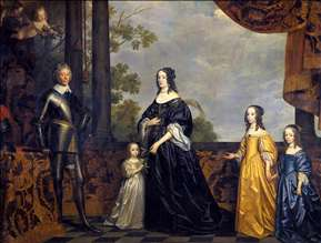 Frederick Hendrick, Prince of Orange, with His Wife Amalia van Solms and Their Three Youngest Daughters
