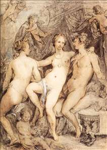 Venus between Ceres and Bacchus