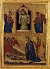 The Dead Christ and the Adoration of the Infant Jesus