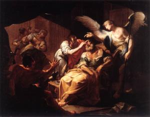 Healing of Old Tobit