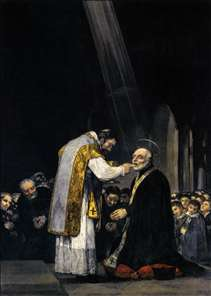 The Last Communion of St Joseph of Calasanz