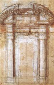 Study for the Porta Pia