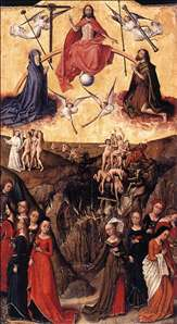 Last Judgment anf the Wise and Foolish Virgins