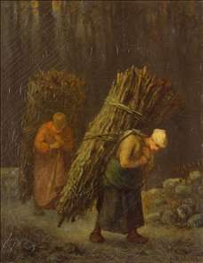 Peasant-Girls with Brushwood
