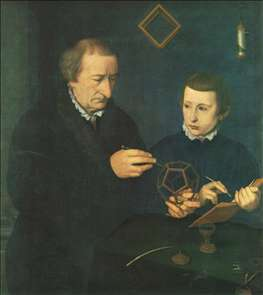 Portrait of Johannes Neudörfer and his Son