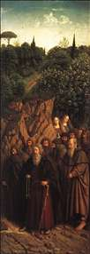 The Ghent Altarpiece: The Holy Hermits