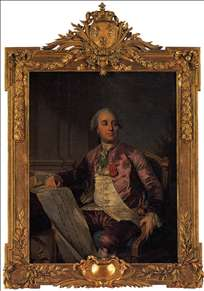 Portrait of the Comte d'Angiviller