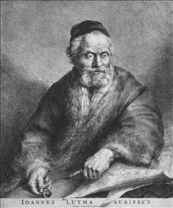 Portrait of Johannes Lutma the Elder