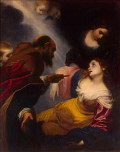 Death of St Petronilla