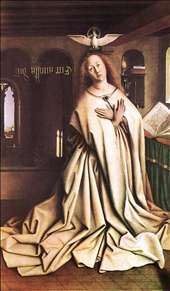 The Ghent Altarpiece: Mary of the Annunciation
