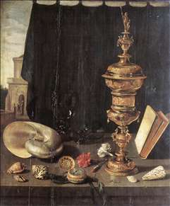 Still-life with Great Golden Goblet