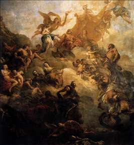 The Apotheosis of Hercules