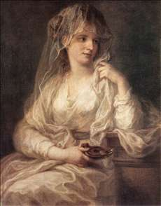 Portrait of a Woman Dressed as Vestal Virgin