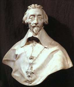 Bust of Cardinal Armand de Richelieu