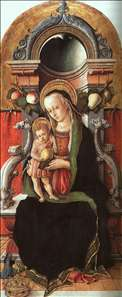 Madonna and Child Enthroned with a Donor